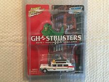 "Johnny Lightning ""Ghostbusters"" ECTO-1 Cadillac Ambulance ""Hollywood on Wheels"""