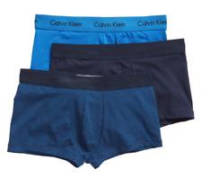 Calvin Klein Men's Assorted Cotton Stretch Low-Rise Trunks 11423 Size M
