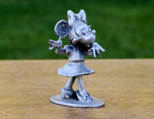 Disney MINIIE MOUSE Hudson Fine Pewter #655-  RARE - Hard to Find