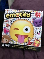 Emoji Board Game Emotify Jumbo 19571 Good Condition &1