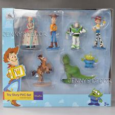 Toy Story Figures Set Buzz Woody Little Green Man Bo Peep Rex Bullseye Jessie