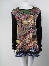 Just Cavalli Graphic Size L Dress BNWT