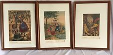 Set Of Three Bela Sziklay Signed Etchings 1930's