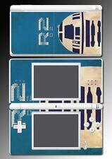 Star Wars Luke R2D2 R2-D2 Retro Poster Video Game Skin Cover Nintendo DS Lite