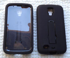 Samsung Galaxy S4 ACTIVE GT-I9295 / SGH-I537 sBLK/BLK Case with BUILT IN SCREEN