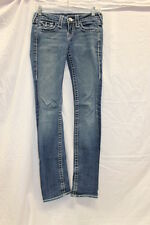 True Religion Disco Billy Big T Jeans Women's Size 25 GREAT Used Condition