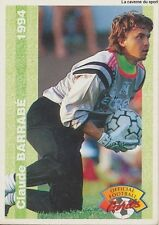N°033 CLAUDE BARRABE SC.MONTPELLIER CARTE PANINI FOOTBALL FRANCE CARDS 1994