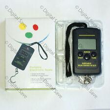 40KG Portable Digital Weighing Hanging Scales Fishing Suitcase Luggage Postal
