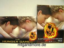 The Hunger Games Movie Trading Card - 1x #024 Katniss & Primrose