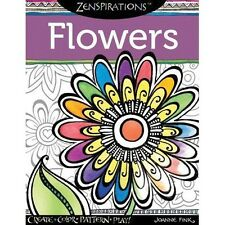 Zenspirations - Flowers Colouring Book Rrp16.50