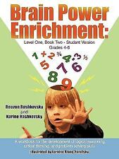 Brain Power Enrichment: Level One Book Two-Student Version Grades 4-6 : A...