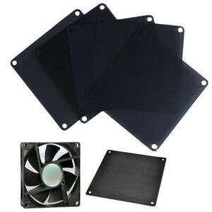 10Pcs 12cm PVC PC Fan Dust Filter Dustproof Case Computer Cooler Cover Mesh.TM