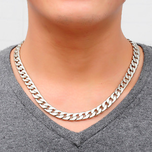 Cool Classic Design Gents Link Chain Necklace - UK Stock
