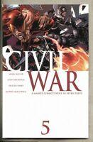 Civil War #5-2006 nm- 9.2 Steve McNiven Standard cover Marvel Mark Millar