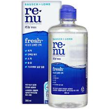 Bausch & Lomb Renu Fresh Multi-purpose Solution Contact Lens Clean Disinfect v_e