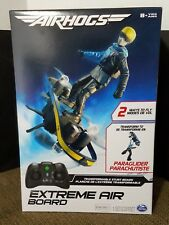 AIRHOGS EXTREME AIR BOARD RC Stunt Board & Paraglider 2 IN 1 SPORT DRONE NEW