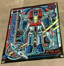transformers canvas banner poster figure model sign
