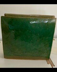 Ikebana Seagreen Pottery Vessel