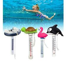 """8.66"""" Cartoon Cute Floating Pool Thermometer Shatter-Resistant with String"""