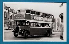 Bus Photo ~ Cumberland Motor Services 262: HRM682: 1949 all-Leyland Titan PD2/1