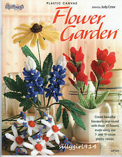 """FLOWER GARDEN""~Plastic Canvas PATTERN BOOK ONLY~10 Designs~SEE PICTURES~NEW"