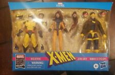 Marvel Legends X-Men Jean Grey Cyclops & Wolverine 6-Inch Action Figure 3-Pack