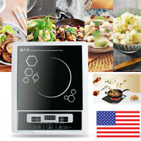 US Digital 2000W Electric Induction Cooktop Cooker Countertop Burner Machine New
