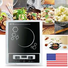 US Digital 2000W Electric Induction Cooktop Cooker Countertop Burner Machine New