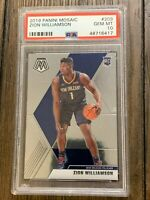 2019 Panini Mosaic Zion Williamson #209 PSA 10 Gem Mint