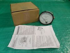 "NEW Ashcroft 5"" Differential Pressure Gauge 1133SD 1/4"" NPT  0-10 H2O Stainless"