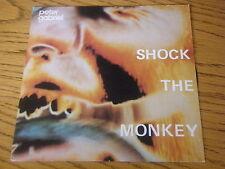 "PETER GABRIEL - SHOCK THE MONKEY   7"" VINYL PS"