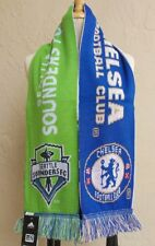 CHELSEA FC vs SEATTLE SOUNDERS FC  MLS Soccer Event Scarf 2009