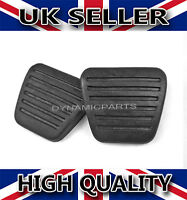 MITSUBISHI FUSO CANTER PAIR OF BRAKE & CLUTCH PEDAL PADS RUBBERS