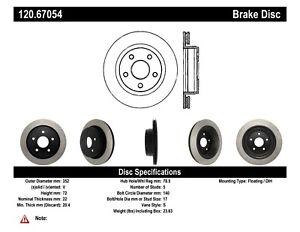 StopTech Disc Brake Rotor for 02-18 Chrysler Aspen / Dodge Dakota / Ram 4000
