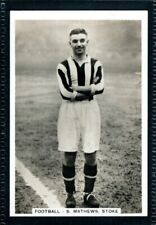 More details for pattreiouex sporting events & stars 1935 stanley matthews-stoke city -type card