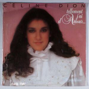 Celine Dion - Tellement J'ai D'amour (1982) [SEALED] Vinyl LP •