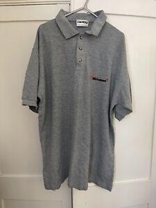 Team Mclaren Mercedes Members Issue Polo Shirt Rare 1996 Mika Hakkinen Coulthard