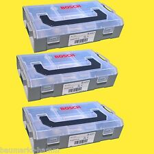3 x BOSCH L-BOXX Mini 1619A00Y21 3er SORTIMO Zubehör  L-BOX Lboxx