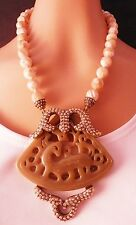 Heidi Daus Carved Artistry Necklace    Ret: $329.95