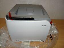 Ricoh SP C220N Aficio Workgroup Laser Printer - New - with no toner