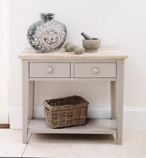 FLORENCE Console Table,Stunning kitchen hallway console table in truffle 2 drawe