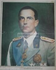 ARALDICA_CASATA SAVOIA_PRINCIPE UMBERTO_PIEMONTE_ANTICO RITRATTO_FOTO PESCE_'30