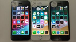 Lot of 3 Apple iPhone 5s A1533 Unlocked 16GB Check IMEI Poor Condition IP-279
