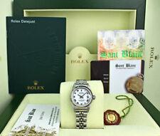 ROLEX Ladies White Gold & Stainless DateJust White Roman Dial 79174 SANT BLANC