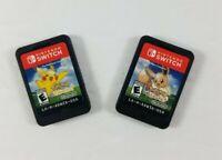 Pokemon: Lets Go Eevee! & Pikachu! (Nintendo Switch, 2018) Game Cartridge Only