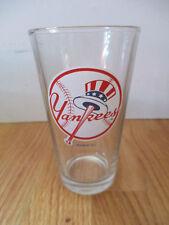 "NEW YORK YANKEES BUDWEISER 6"" Beer Glass"