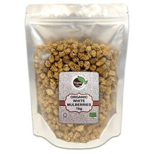 Organic Sun Dried White Mulberries -  Organic Village