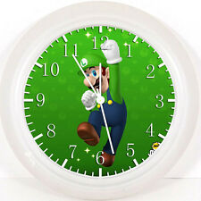 Super Mario Luigi Wall Clock Z81 Nice Gift or Room wall Decor NEW