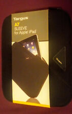 """TARGUS SLEEVE for A7 Apple iPad or Netbook 10.3""""x8.3"""" Protective Padded CASE Blk"""