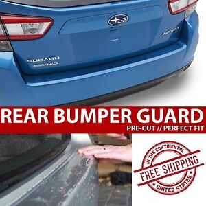 Rear Trunk Paint Protection Clear Bra Film for 2016 Toyota Sienna Van
